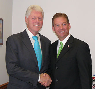 Dan Sparks - Sparks with President Bill Clinton