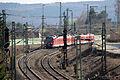 DB BR440 - Einfahrt Bahnhof Treuchtlingen (Bayern) - (Eisenbahn-Die Bahn) (13516607523).jpg