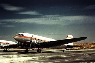 History of Iberia (airline) - Iberia Douglas DC-3
