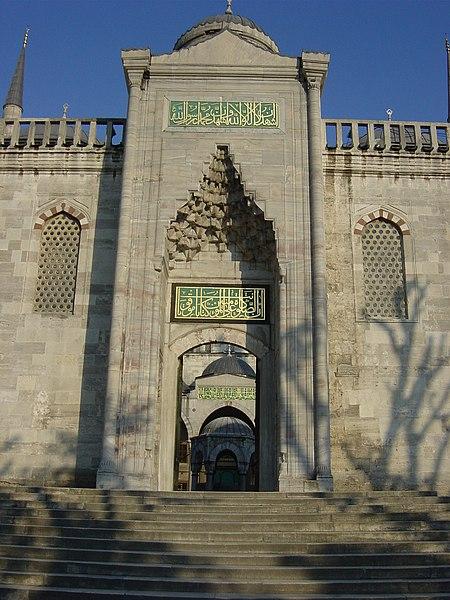 Fichier:DSC04728 Istanbul - La Moschea Blu - Foto G. Dall'Orto 29-5-2006.jpg