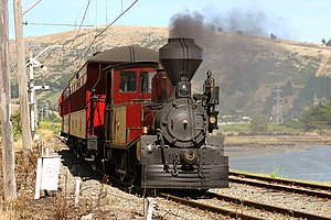 Canterbury Railway Society - Image: D Class No 140 at Ferrymead Railway