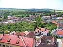 Dačice, výhled z věže, východ (06).jpg