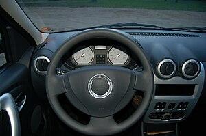 Dacia Logan - The cockpit of the Logan MCV