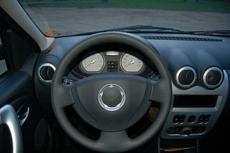 Dacia Logan - The cockpit of the Logan MCV