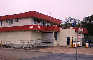 Dalmeny, New South Wales - Dalmeny IGA and Shell Service station