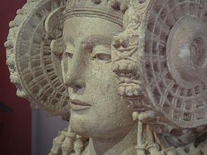 Lady of Elche - Detail of the Lady of Elche