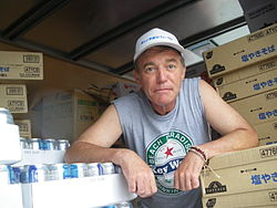 Daniel Kahl delivering supplies to Fukushima 9-19-11.jpg