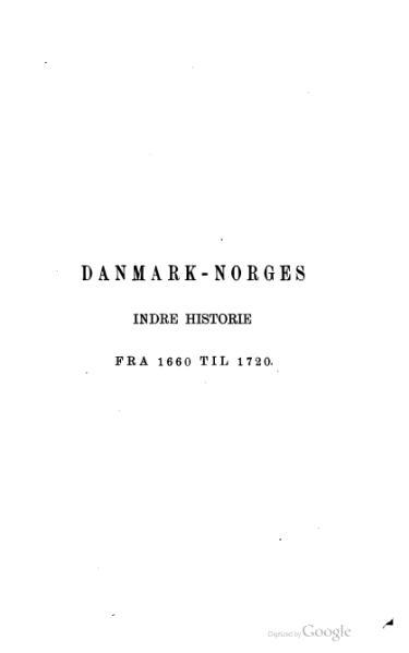 File:Danmark-Norges indre historie under enevælden 1.djvu