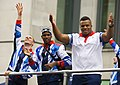 Danny Talbot, Conrad Williams, Lawrence Okoye 2012 Parade.jpg