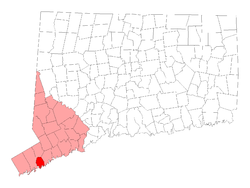 Located in Fairfield County, Connecticut