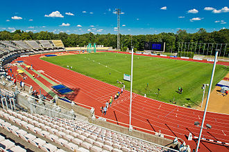2005 European Athletics Junior Championships - Host stadium in Kaunas.