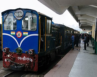 Darjeeling Himalayan Railway - Diesel locomotive