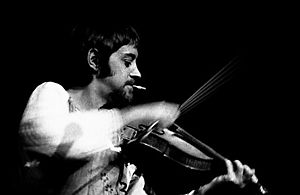 Dave Swarbrick - Swarbrick in concert at Convocation Hall, Toronto, 1977