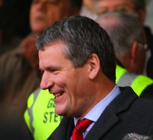 David Gill (executive) - Image: David Gill (Man Utd)