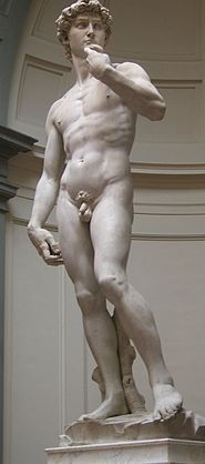 Resultado de imagen de estatua clásica david