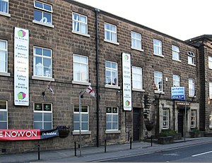 Grade II* listed buildings in Amber Valley - Image: De Bradelei Mill Belper Geograph 3592333 by Dave Bevis