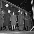 De SS Almanzora met 1900 gerepatrieerden uit Indie aan boord in de haven van Ams, Bestanddeelnr 901-3354.jpg