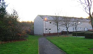 Livingston, West Lothian - New Town architecture in Deans