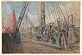 Deck of the Great Eastern, the Cable Trough, etc., 1866 MET DP820957.jpg