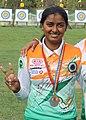Deepika Kumari at world cup final,istanbul.jpg