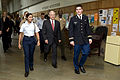 Defense.gov News Photo 100929-D-7203C-002 - Secretary of Defense Robert M. Gates walks with ROTC cadets at Duke University, N.C., on Sept. 29, 2010.jpg