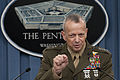 Defense.gov News Photo 120326-D-BW835-139 - Commander International Security Assistance Force and U.S. Forces Afghanistan Gen. John R. Allen U.S. Marine Corps briefs the press in the.jpg