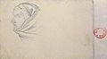 Dehodencq A. - Pencil - Etude d'une tête d'orientale - feuille de 27x20cm.jpg