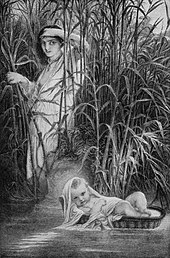 Delaroche Moses in the Bulrushes