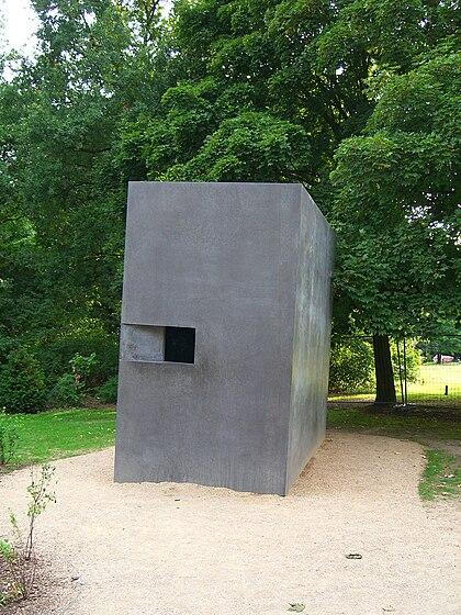 Mémorial aux victimes gays et lesbiennes du national-socialisme à Berlin (Elmgreen & Dragset)