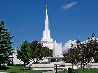 Denver Colorado Temple - Image: Denver LDS Temple 2