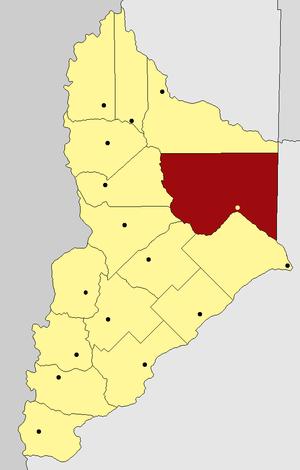 Aguada San Roque - Image: Departamento Añelo (Neuquén Argentina)