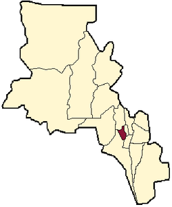 Caipital depairtment within Catamarca Province