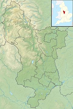 Bleaklow is located in Derbyshire