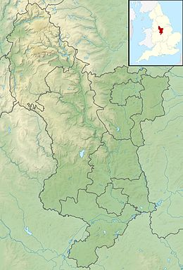 Rivero Derwent, Derbyshire situas en Derbyshire
