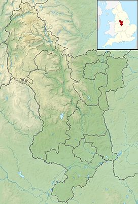 Alport Height is located in Derbyshire