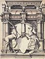 Design for a Stained Glass Window with Two Unicorns, by Hans Holbein the Younger.jpg