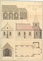 Design for the Parish Church of Merkershausen MET DP827948.jpg