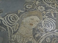 Detail of 'The Beauty of Durres' Mosaic (Illyrian - 4th Cent. BCE) - National Historical Museum - Tirana - Albania (42748108492).jpg