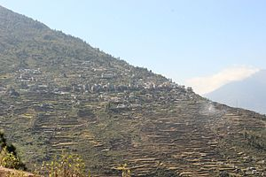 Dhunche - Image: Dhunche