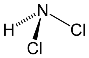 Dichloramine - Image: Dichloramine 2D