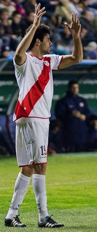 Rayo Vallecano - Diego Costa with Rayo Vallecano in 2012.