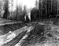 Digging the canal near camp no 5, February 8, 1911 (SPWS 668).jpg