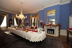 Government House (Maryland) - Image: Dining Hall, Government House, Maryland