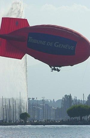 Tribune de Genève - Tribune de Genève Airship