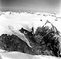 Dirst Creek and Dawes Glacier, hanging glaciers, August 28, 1969 (GLACIERS 5394).jpg