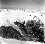 Dirst Creek and Dawes Glacier, hanging glaciers, August 28, 1969 (GLACIERS 5394).jpg