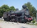 Divaca train station-steam locomotive JZ 28-006.jpg