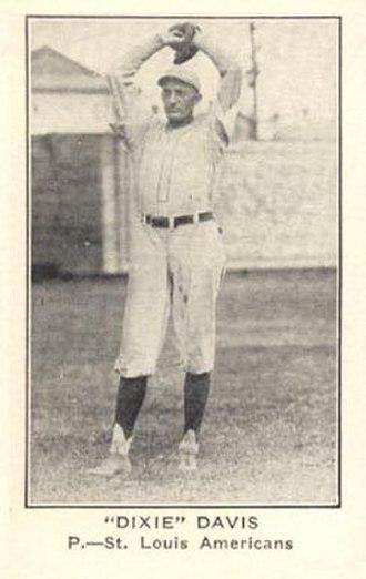 Dixie Davis (baseball) - Image: Dixie Davis card