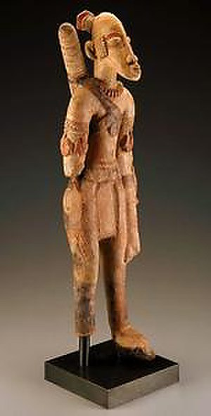 Djenné-Djenno - Image: Djenne Terracotta Archer (13th 15th cent)
