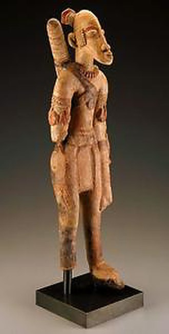 Mali Empire - Terracotta archer figure from Mali (13th to 15th centuries)